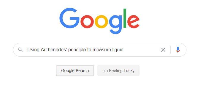 Google search term