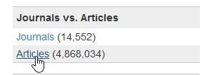 DOAJ articles