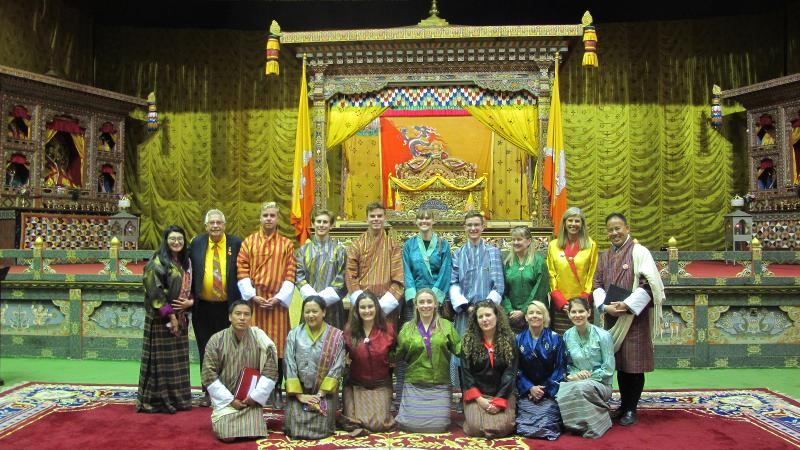 QUT - Law - Law student provides help to Bhutanese Parliament from