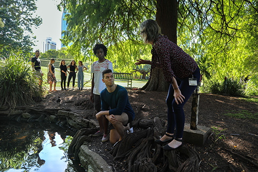 Dr Catherine Leigh teaches Honours students studying Earth, Environmental and Biological Sciences at QUT in Brisbane, Australia.