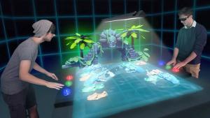 The World's first hologram Arcade Machine