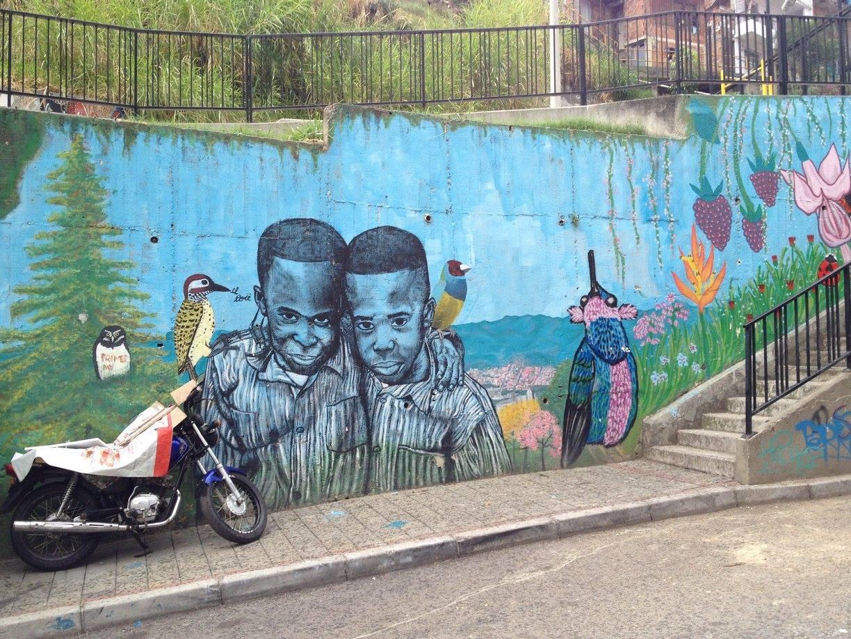 Street Art in Medellin, Colombia