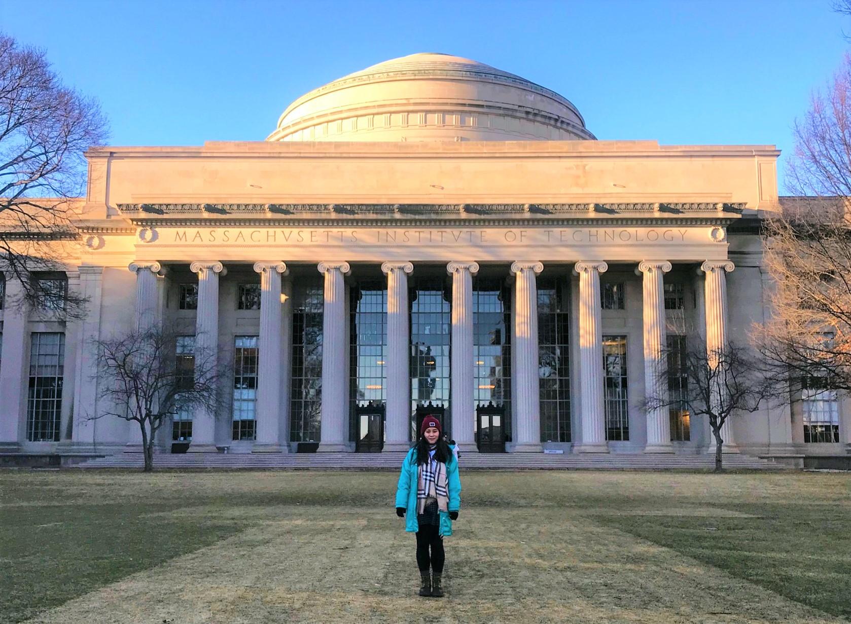 Vivi Tran, QUT student at MIT