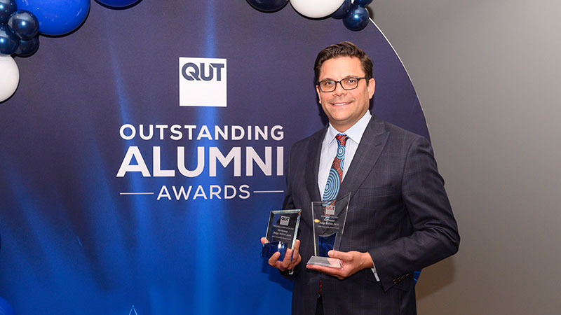 QUT 2020 Alumnus of the Year, His Honour Judge Nathan Jarro